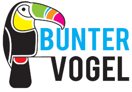 Bunter Vogel Logo
