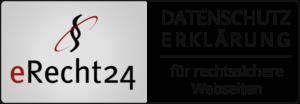eRecht24 Datenschutz Siegel